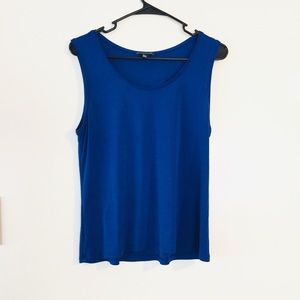 Eileen Fisher Tank Shell Top Classic Career Layer